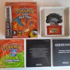 Videojuegos y Consolas: POKEMON EDICIÓN ROJO FUEGO NINTENDO GAMEBOY ADVANCE. Lote 221373986