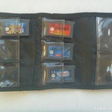 Videojuegos y Consolas: ESTUCHE DE CENTRO MAIL CON 4 JUEGOS DE GAME BOY ADVANCE , DE NINTENDO. Lote 221461985