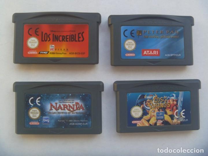 Videojuegos y Consolas: ESTUCHE DE CENTRO MAIL CON 4 JUEGOS DE GAME BOY ADVANCE , DE NINTENDO - Foto 3 - 221461985