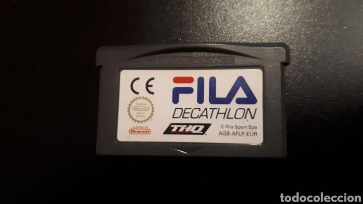 RARO JUEGO FILA DECATHLON PARA GAMEBOY GAME BOY ADVANCE (Juguetes - Videojuegos y Consolas - Nintendo - GameBoy Advance)