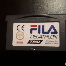 Videojuegos y Consolas: RARO JUEGO FILA DECATHLON PARA GAMEBOY GAME BOY ADVANCE. Lote 221739792