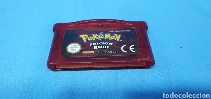 JUEGO PARA GAME BOY ADVANCE - POKÉMON EDICIÓN RUBI - NINTENDO (Juguetes - Videojuegos y Consolas - Nintendo - GameBoy Advance)
