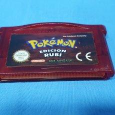 Videojuegos y Consolas: JUEGO PARA GAME BOY ADVANCE - POKÉMON EDICIÓN RUBI - NINTENDO. Lote 254474030