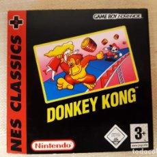 Videojuegos y Consolas: DONKEY KONG. NES CLASSIC PARA GAME BOY ADVANCE.. Lote 222571572