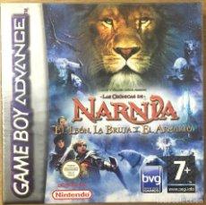 Videojuegos y Consolas: LAS CRÓNICAS DE NARNIA, EL LEÓN, LA BRUJA Y EL ARMARIO - GAMEBOY ADVANCE. Lote 222973235