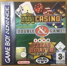 Videojuegos y Consolas: CASINO DOUBLE GAME - GAME BOY ADVANCE. Lote 223407948