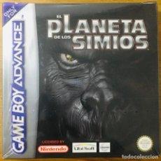 Videojuegos y Consolas: EL PLANETA DE LOS SIMIOS - GAMEBOY ADVANCE. Lote 223408141