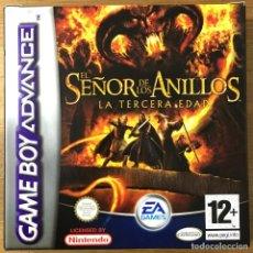 Videojuegos y Consolas: EL SEÑOR DE LOS ANILLOS LA TERCERA EDAD - GAMEBOY ADVANCE NINTENDO. Lote 224662975