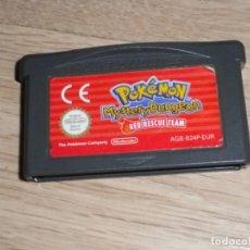 Videojuegos y Consolas: NINTENDO GAMEBOY ADVANCE POKEMON MYSTERY DUNGEON RED RESCUE TEAM. Lote 224798451