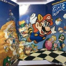 Videojuegos y Consolas: POSTER SUPER MARIO 3 GAME BOY ADVANCE. Lote 229088610