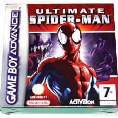 Videojuegos y Consolas: JUEGO GAMEBOY ADVANCE ULTIMATE SPIDERMAN NUEVO GBA. Lote 229717675