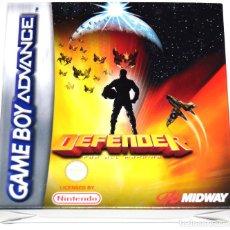 Videojuegos y Consolas: JUEGO GAMEBOY ADVANCE DEFENDER NUEVO GBA. Lote 229719035