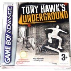 Videojuegos y Consolas: JUEGO GAMEBOY ADVANCE TONY HAWK'S UNDERGROUND NUEVO PRECINTADO GBA. Lote 234393940