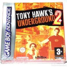 Videojuegos y Consolas: JUEGO GAMEBOY ADVANCE TONY HAWK'S UNDERGROUND 2 NUEVO PRECINTADO GBA. Lote 234394045