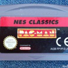 Videojuegos y Consolas: PAC-MAN NES CLASSICS ORIGINAL NINTENDO GAME BOY ADVANCE. Lote 235869330