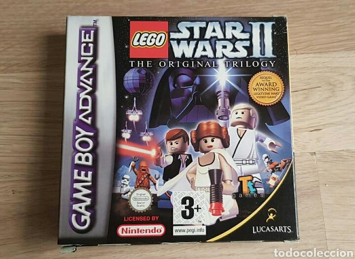 Videojuegos y Consolas: GBA GAMEBOY ADVANCE JUEGO LEGO STAR WARS II THE ORIGINAL TRILOGY - Foto 2 - 46109625
