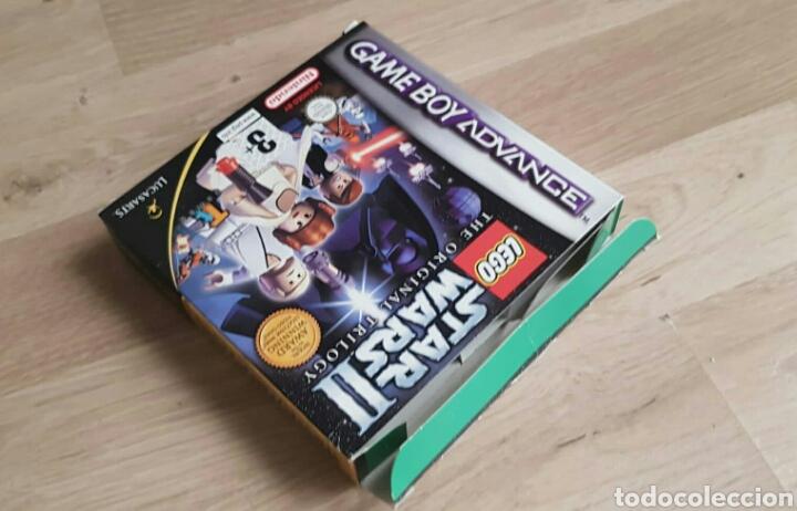 Videojuegos y Consolas: GBA GAMEBOY ADVANCE JUEGO LEGO STAR WARS II THE ORIGINAL TRILOGY - Foto 3 - 46109625