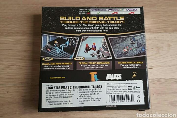 Videojuegos y Consolas: GBA GAMEBOY ADVANCE JUEGO LEGO STAR WARS II THE ORIGINAL TRILOGY - Foto 4 - 46109625