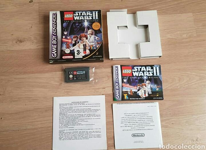 GBA GAMEBOY ADVANCE JUEGO LEGO STAR WARS II THE ORIGINAL TRILOGY (Juguetes - Videojuegos y Consolas - Nintendo - GameBoy Advance)