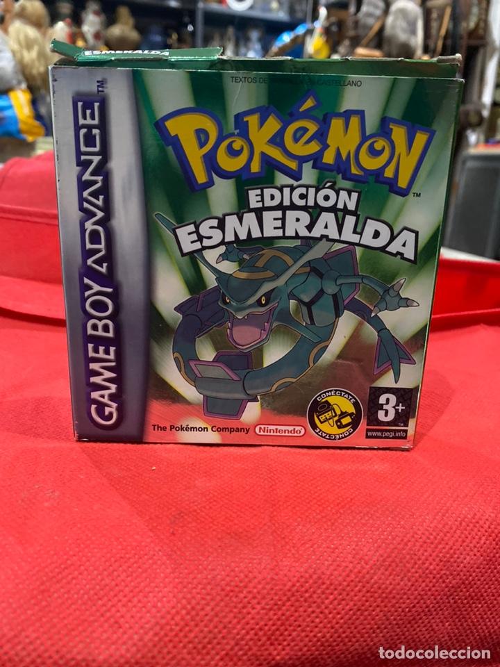 POKÉMON ESMERALDA PARA GAME BOY ADVANCE.EN ESPAÑOL,ORIGINAL NINTENDO.CAJA Y LIBRO DE INSTRUCCIONES (Juguetes - Videojuegos y Consolas - Nintendo - GameBoy Advance)