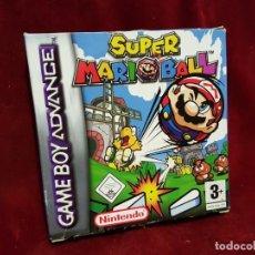 Videojuegos y Consolas: CAJA JUEGO SUPER MARIO BALL GAME BOY ADVANCE. Lote 239953415