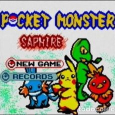 Videojuegos y Consolas: JUEGO BOOTLEG. POCKET MONSTER SAPHIRE.. Lote 240050350
