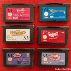 Videojuegos y Consolas: LOTE DE 6 JUEGOS. GAME BOY ADVANCE. MUY BUEN ESTADO.. Lote 240447570