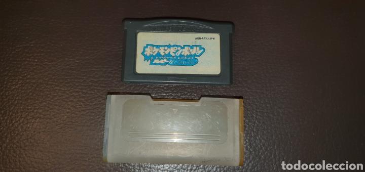 Videojuegos y Consolas: RARO Y DIFICIL JUEGO NINTENDO GAMEBOY ADVANCE POKEMON PINBALL - Foto 3 - 243307480