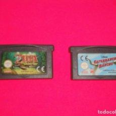 Videojuegos y Consolas: JUEGOS GAMEBOY ADVANCE. Lote 243457015