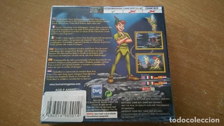 Videojuegos y Consolas: PETER PAN NEVERLAND GAMEBOY ADVANCE PAL ESPAÑA PRECINTADO - Foto 2 - 244659935