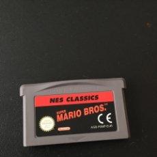 Videojuegos y Consolas: SUPER MARIO BROS NES CLASSICS NINTENDO ADVANCE. Lote 244965080
