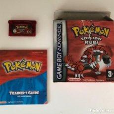 Videojuegos y Consolas: POKEMON RUBÍ - VERSIÓN ESPAÑOLA GAME BOY (TARA). Lote 245022845