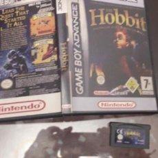 Videojuegos y Consolas: 08-00211 NINTENDO GAME BOY ADVANCE - THE HOBBIT. Lote 129025603
