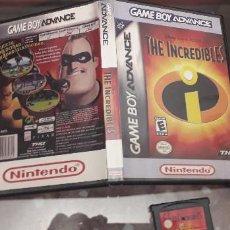 Videojuegos y Consolas: 08-00251 GAME BOY ADVANCE - LOS INCREIBLES. Lote 134871774