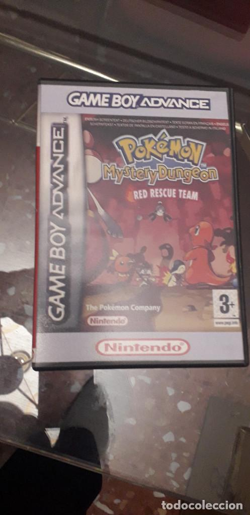 Videojuegos y Consolas: 08-00292 GAME BOY ADVANCE - POKEMON MISTERY DUNGEON, RED RESCUE TEAM - Foto 4 - 134925006