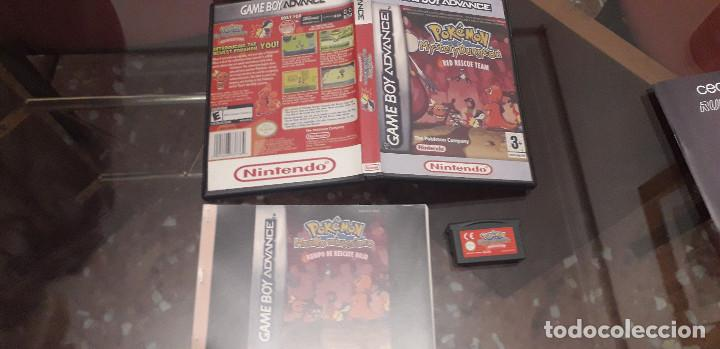 08-00292 GAME BOY ADVANCE - POKEMON MISTERY DUNGEON, RED RESCUE TEAM (Juguetes - Videojuegos y Consolas - Nintendo - GameBoy Advance)