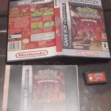 Videojuegos y Consolas: 08-00292 GAME BOY ADVANCE - POKEMON MISTERY DUNGEON, RED RESCUE TEAM. Lote 134925006