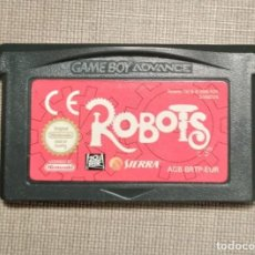 Videojuegos y Consolas: GAMEBOY ADVANCE - ROBOTS - CARTUCHO - FUNCIONANDO. Lote 245358880