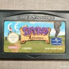 Videojuegos y Consolas: GAMEBOY ADVANCE - SPYRO ADVENTURE - CARTUCHO - FUNCIONANDO. Lote 245359725