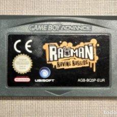 Videojuegos y Consolas: GAMEBOY ADVANCE - RAYMAN RAVING RABBIDS - CARTUCHO - FUNCIONANDO. Lote 245359880