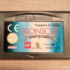 Videojuegos y Consolas: GAMEBOY ADVANCE - BIONICLE HEROES - CARTUCHO - FUNCIONANDO. Lote 245361805
