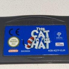 Videojuegos y Consolas: NINTENDO GAME BOY ADVANCE : ANTIGUO JUEGO THE CAT IN THE HAT. Lote 245389665