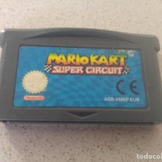 Videojuegos y Consolas: MARIO KART SUPER CIRCUIT NINTENDO GAMEBOY ADVANCE GBA PAL-EUROPE. Lote 246201360