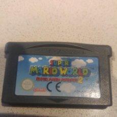 Videojuegos y Consolas: SUPER MARIO WORLD GAMEBOY ADVANCE GBA PAL NINTENDO. Lote 246203875