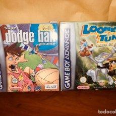 Videojuegos y Consolas: LOTE 2 JUEGOS NINTENDO GAME BOY ADVANCE GAMEBOY. Lote 246205660