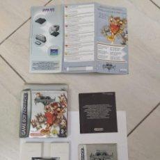 Videojuegos y Consolas: KINGDOM HEARTS NINTENDO GAMEBOY ADVANCE PAL-EUROPE ORIGINAL 100% GBA. Lote 246271040