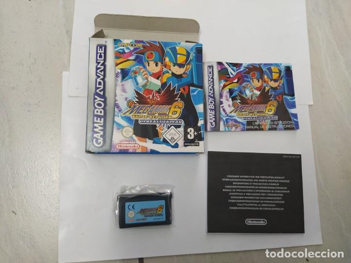 MEGAMAN 6 CYBEAST FALZAR GBA NINTENDO GAMEBOY ADVANCE PAL-EUROPE (Juguetes - Videojuegos y Consolas - Nintendo - GameBoy Advance)