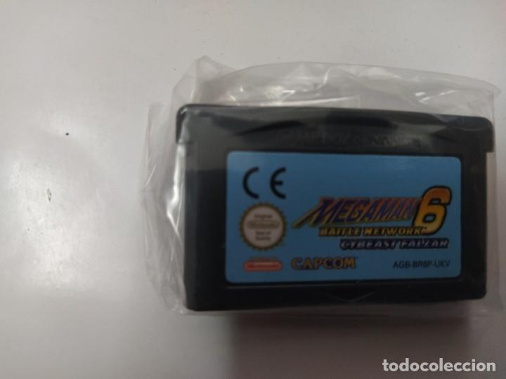 Videojuegos y Consolas: MEGAMAN 6 CYBEAST FALZAR GBA NINTENDO GAMEBOY ADVANCE PAL-EUROPE - Foto 2 - 247018335