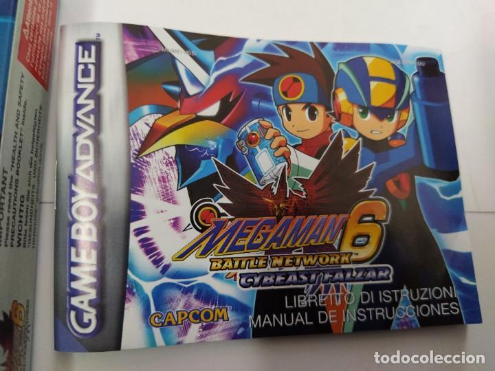 Videojuegos y Consolas: MEGAMAN 6 CYBEAST FALZAR GBA NINTENDO GAMEBOY ADVANCE PAL-EUROPE - Foto 3 - 247018335