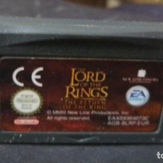 Videojuegos y Consolas: LORD OF THE RINGS - THE RETURN OF THE KING - NINTENDO GAME BOY ADVANCE - EA GAMES GAMEBOY. Lote 247696840